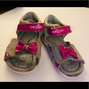Girl Geox Sandals size 6